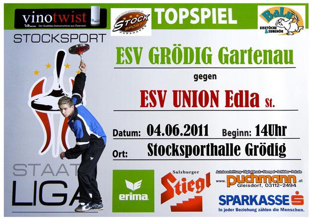 Der EV Grödig bestreitet gegen Edla sein fünftes Staatsliga-Spiel 2011